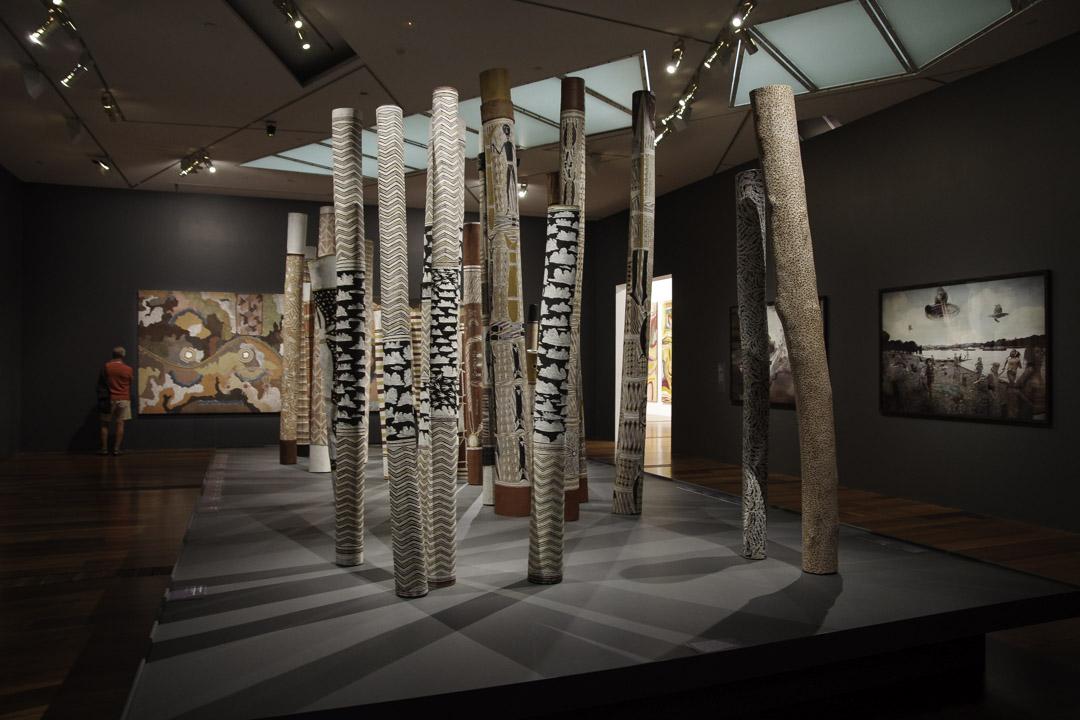 Visite du musée NGV Australia à Melbourne