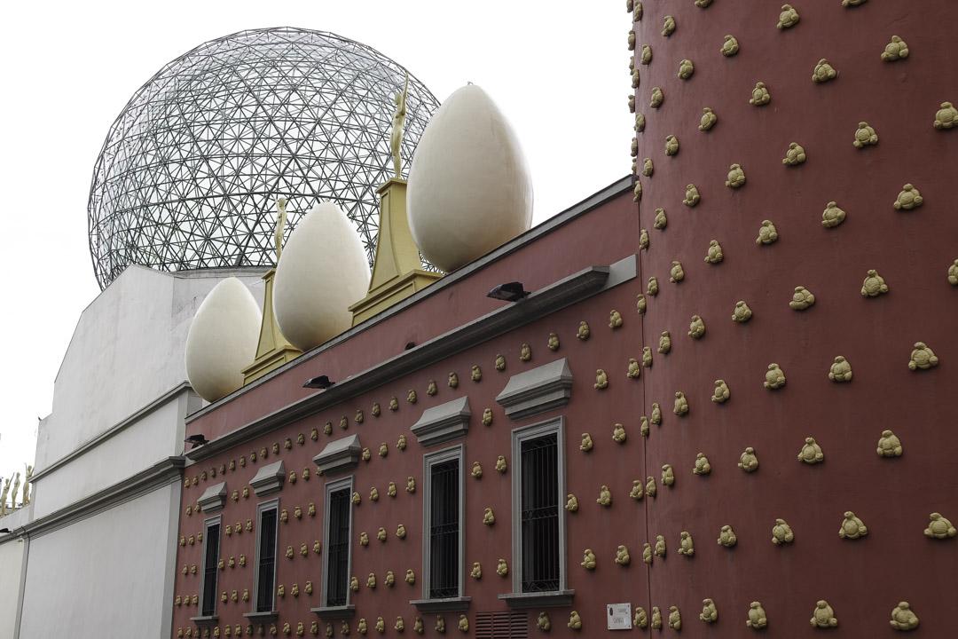 architecture musée Dali à Figueras