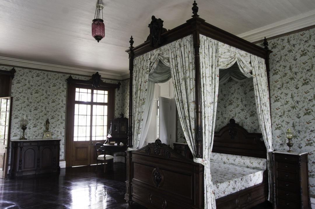 Chambre du Château de Labourdonnais