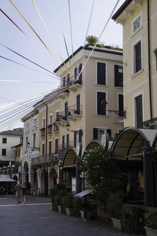 centre ville de Desenzano del garda