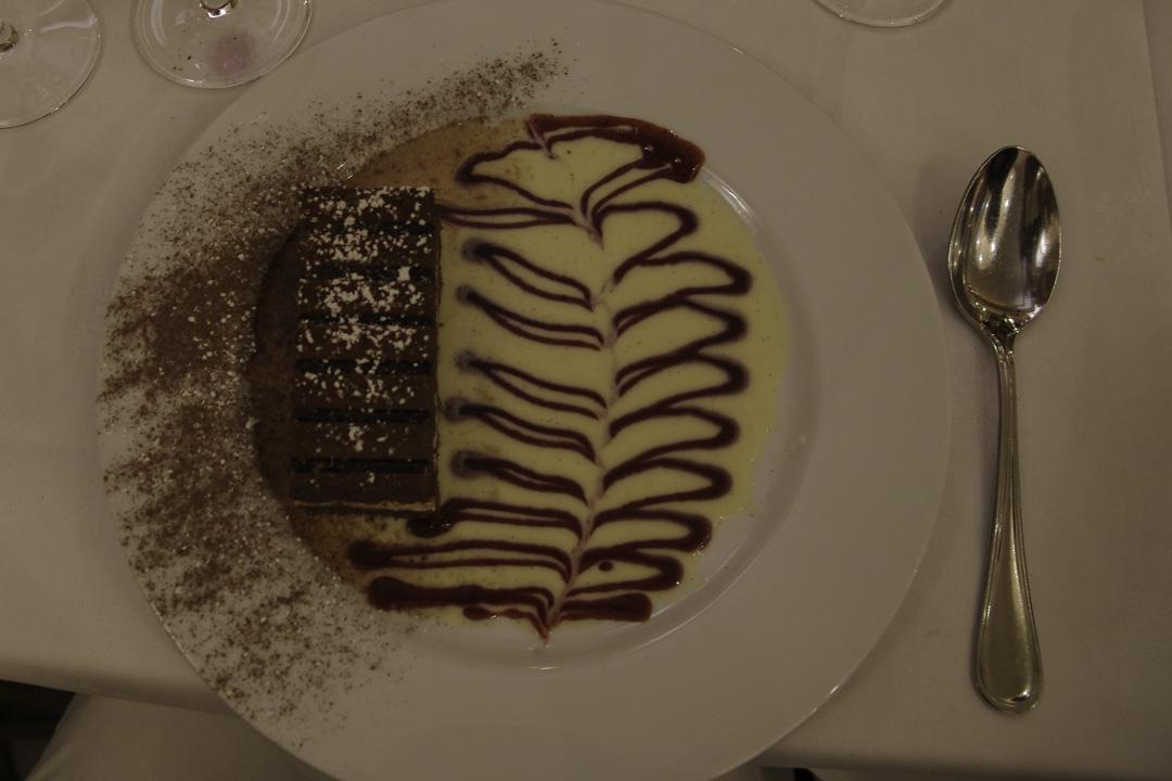 Dessert au restaurant les noces de Jeannette