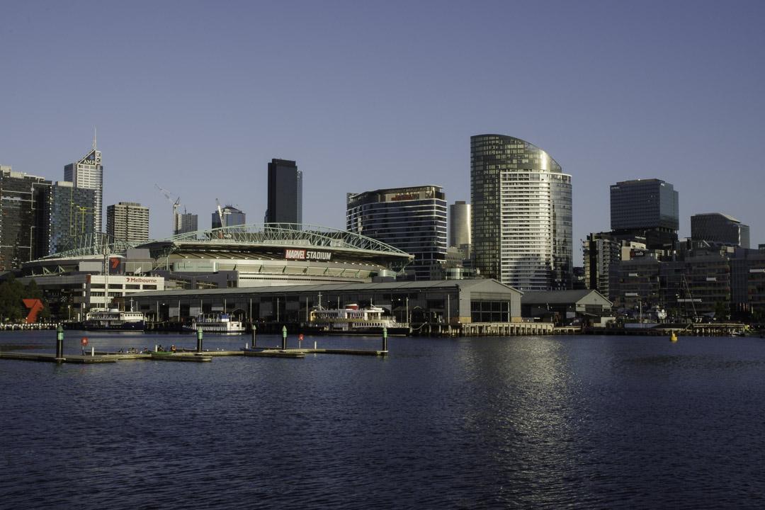Quartier des Docklands à Melbourne
