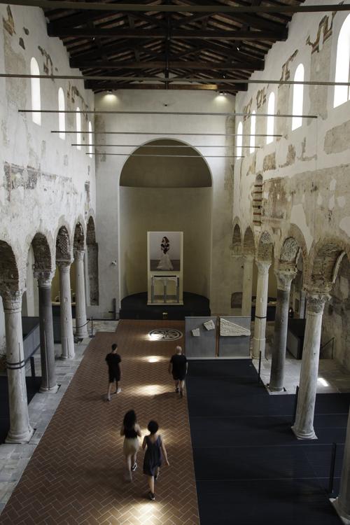 Nef de l'église San Salvatore de Brescia