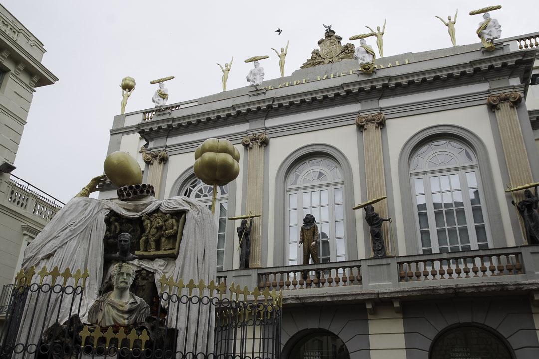 facade du musée théatre Dali