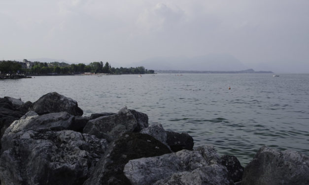 Le Sud du Lac de Garde