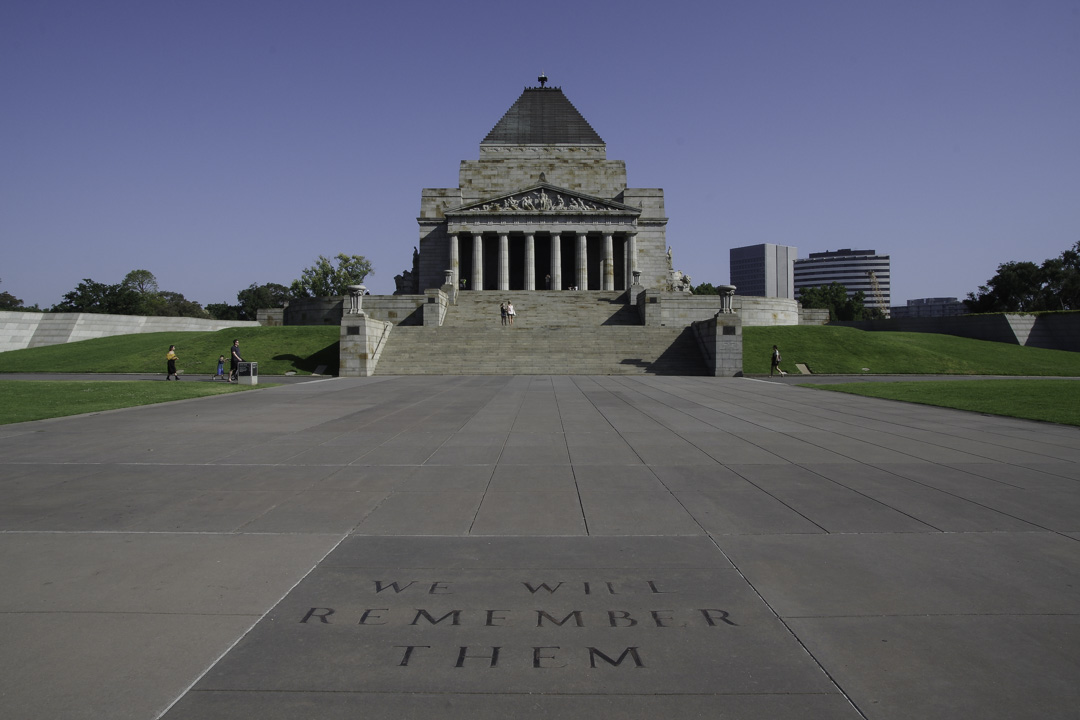Memorial Anzac à Melbourne