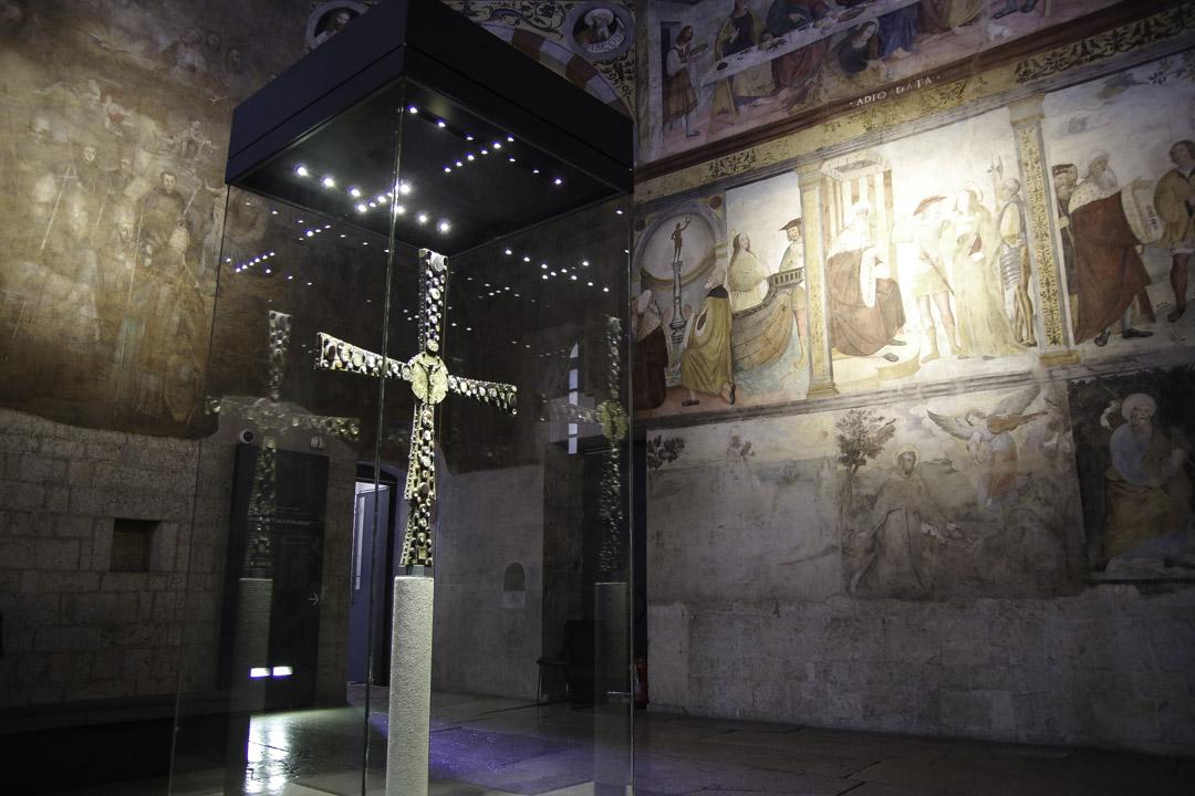 Eglise de Santa Maria in Solario dans le monastère de Santa Giulia