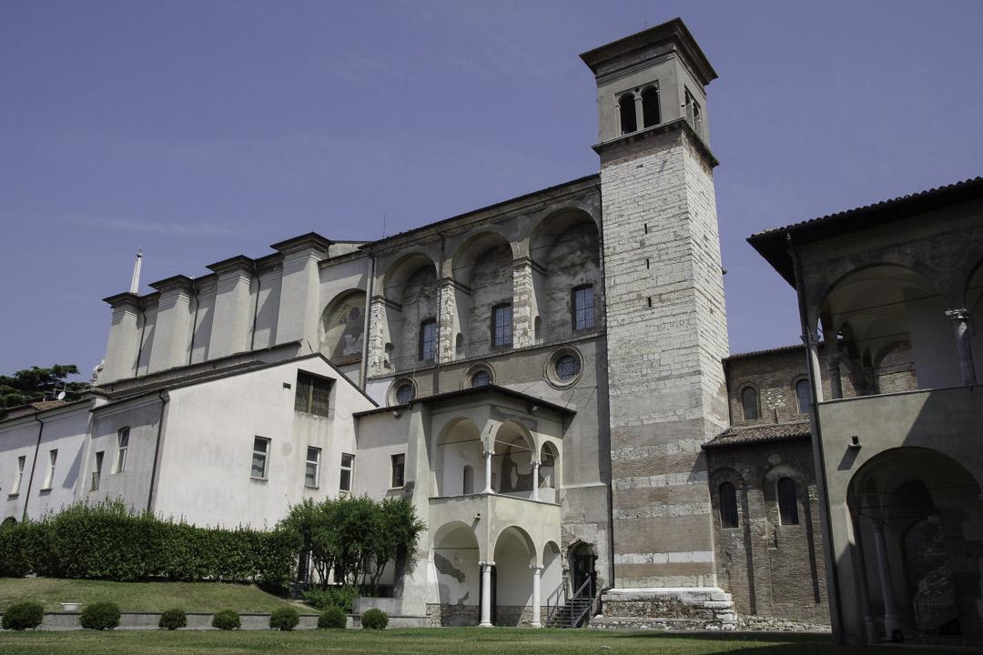 Le monastère de Santa Giula à Brescia