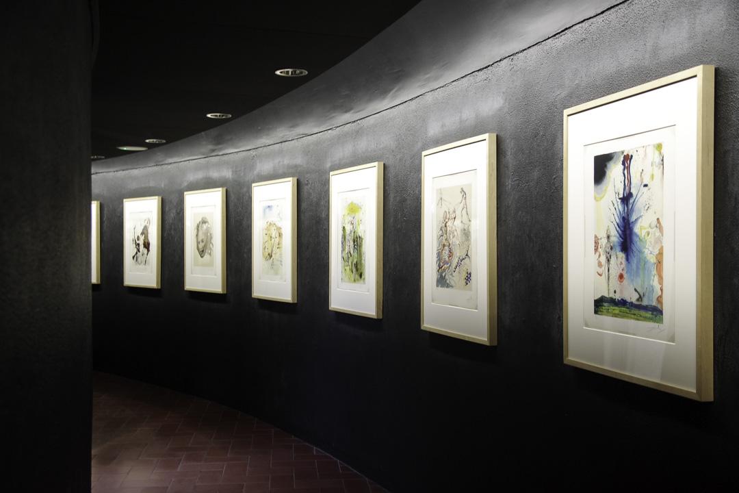 visite du théatre musée Dali - galerie de tableaux