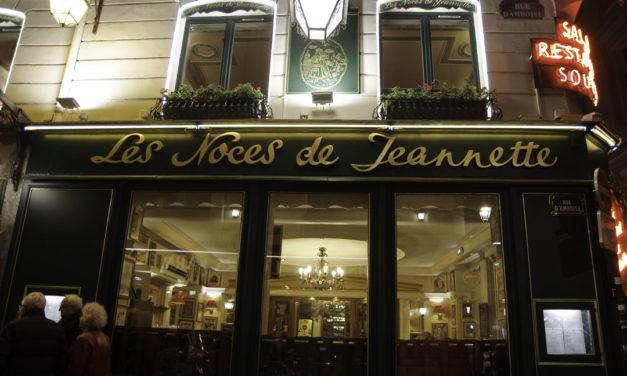 Les Noces de Jeannette : restaurant traditionnel à Paris