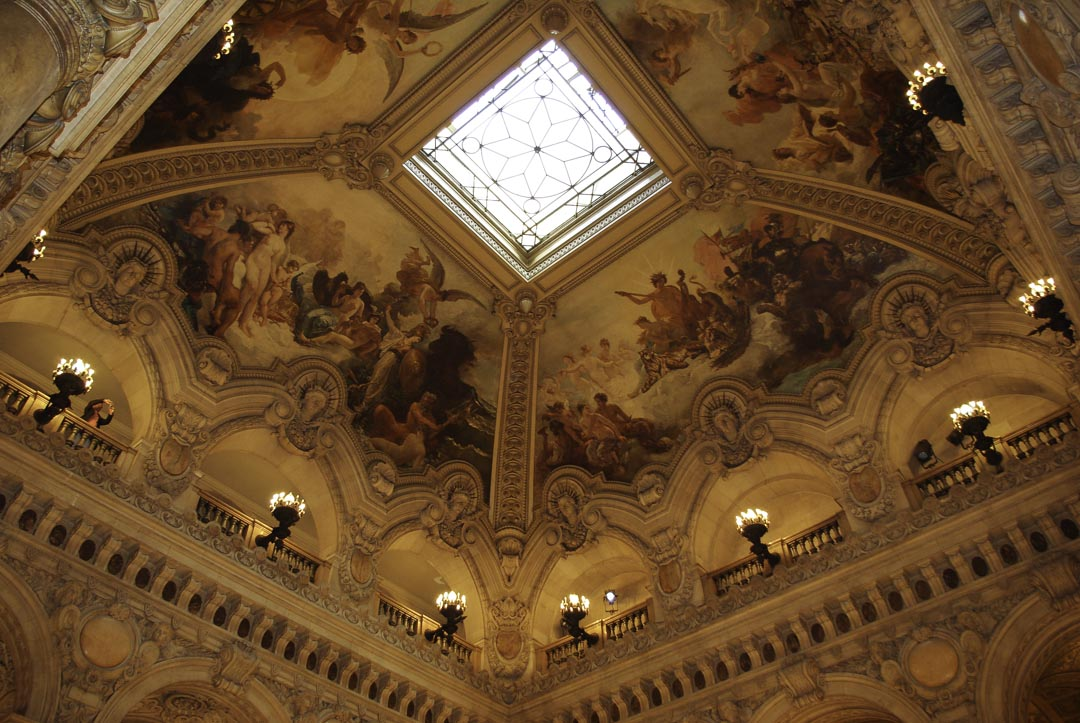 Fresque de l'Opéra Garnier - Paris