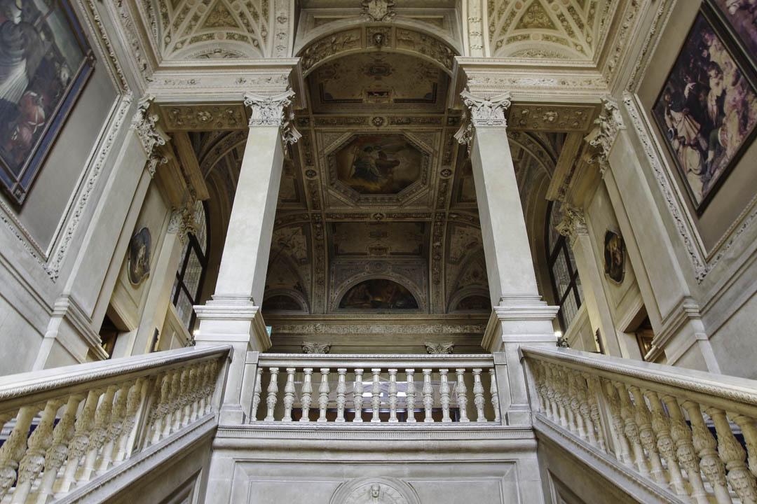 escalier du Palazzo della Loggia - Brescia