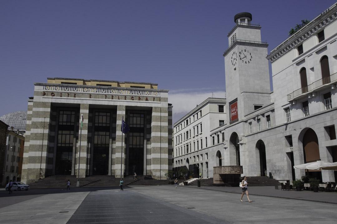 Piazza Vittoria à Brescia