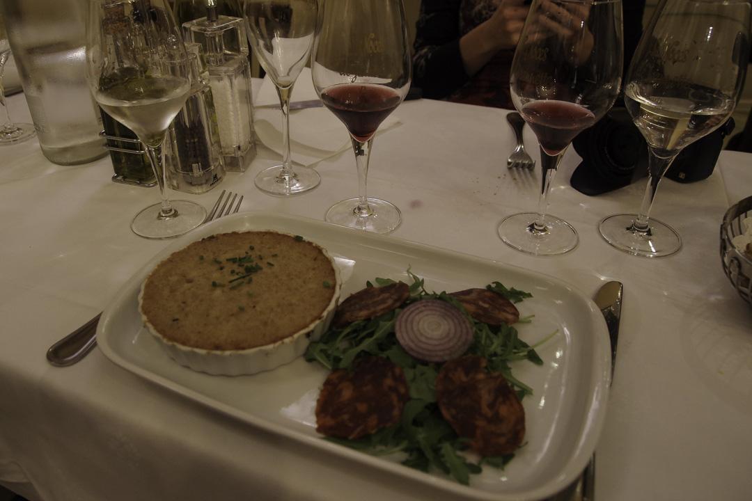 Plat restaurant les noces de Jeannette