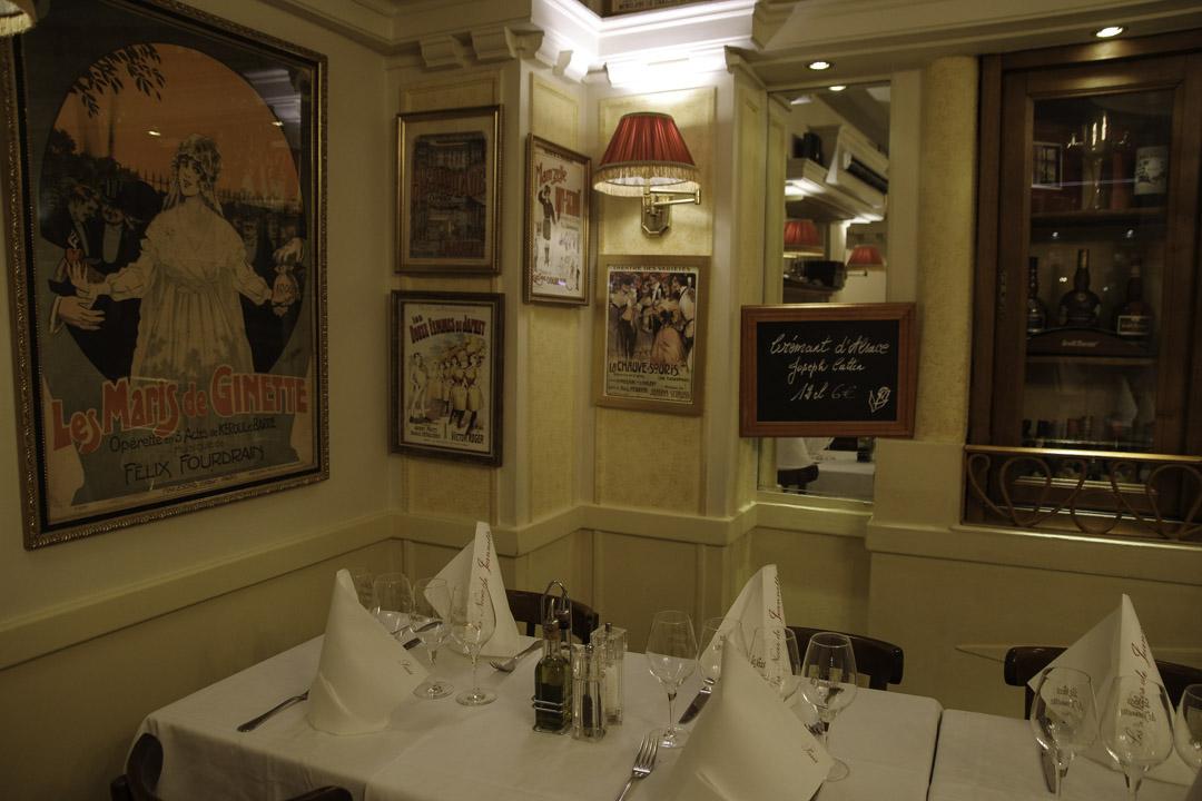 Restaurant les Noces de JEannette dans le IIème arrondissement