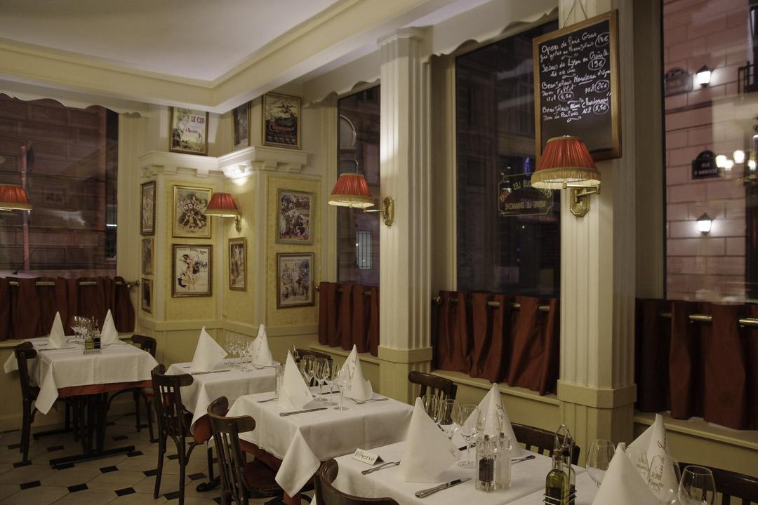 Restaurant Les Noces de Jeannette à Paris