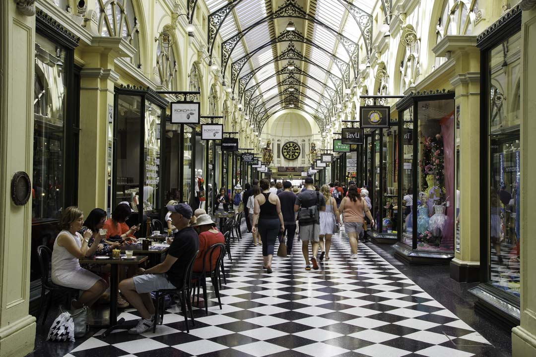 Royal Arcade de Melbourne
