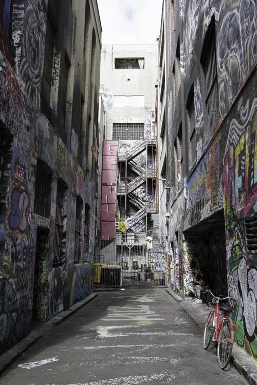 Autour d'Hosier Lane - Melbourne