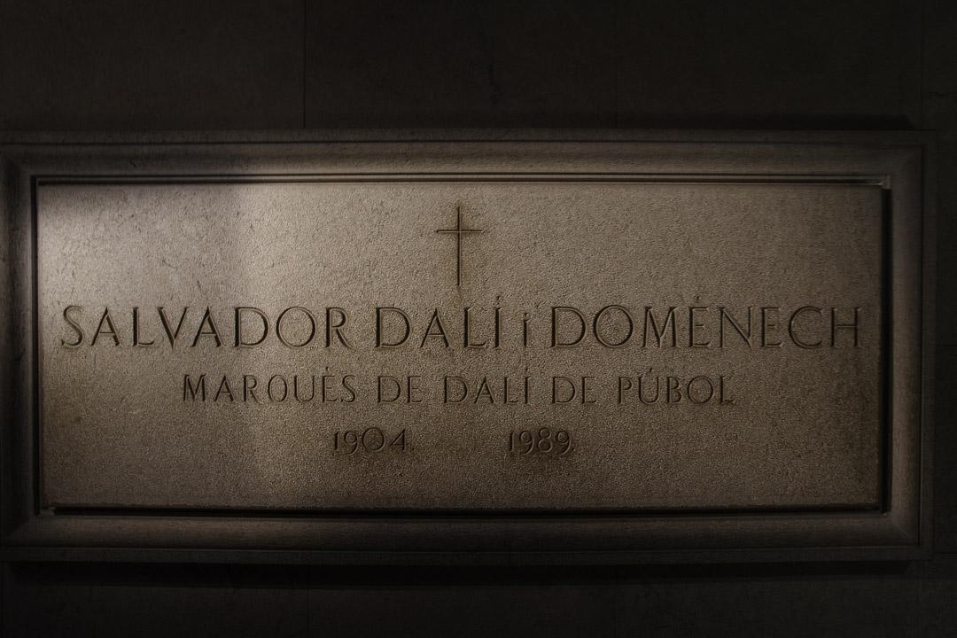 tombeau de Dali