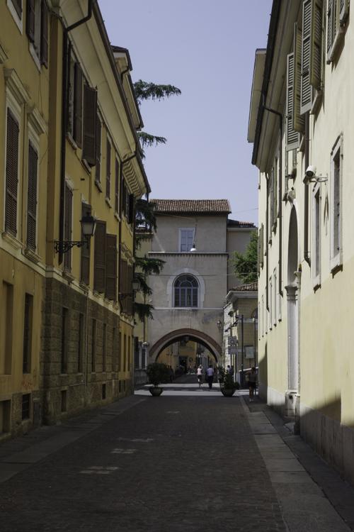 dans les rues de Brescia