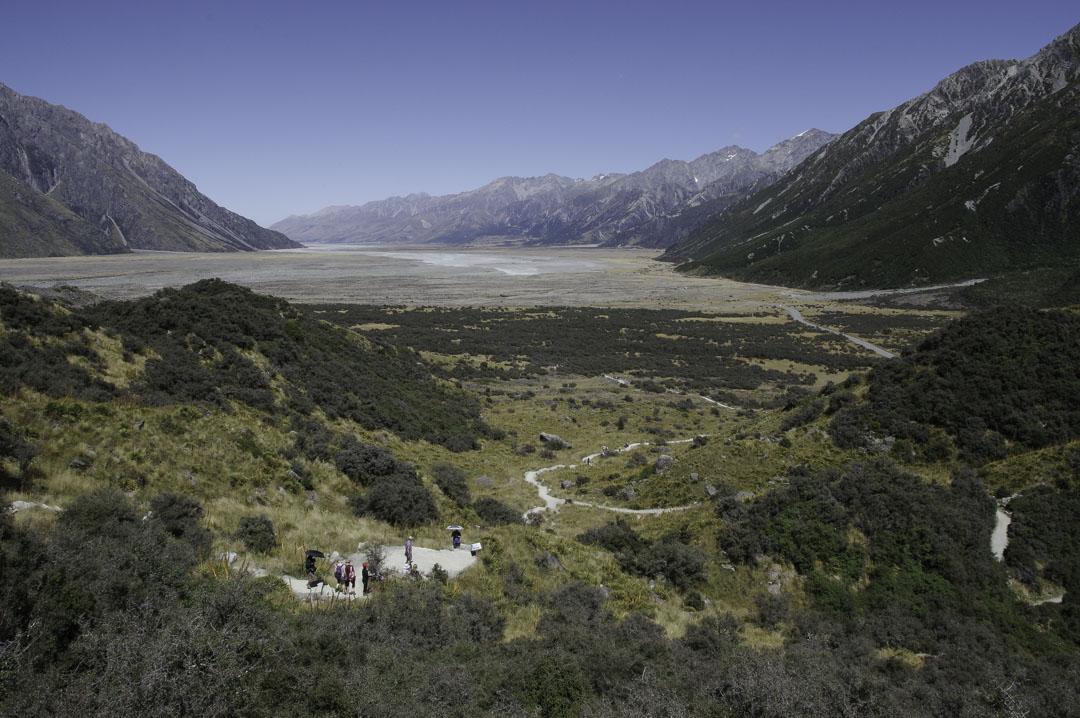 Tasman Glacier View Track