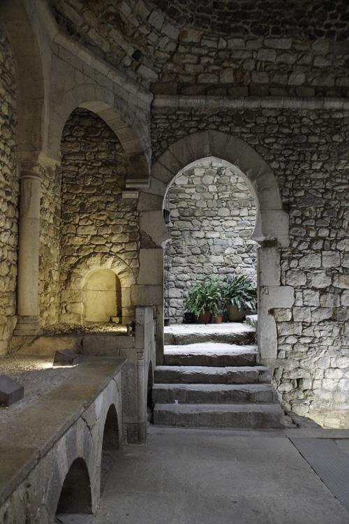 Visite des bains arabes de Gérone