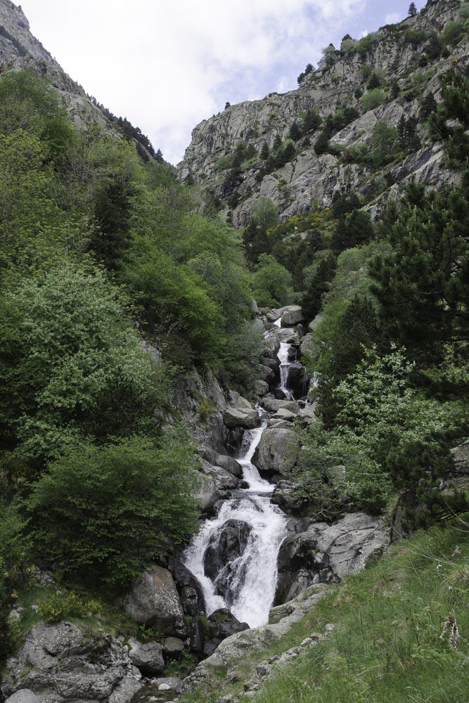 Cascade Vall de Nuria - Catalogne