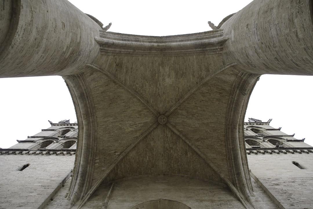 Portique - Cathédrale de Montpellier