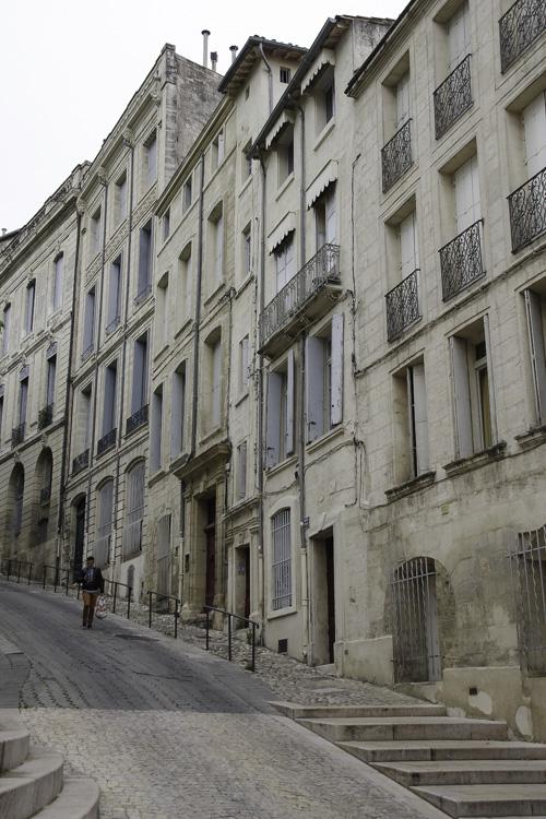 Quartier historique de l'Ecusson à Montpellier
