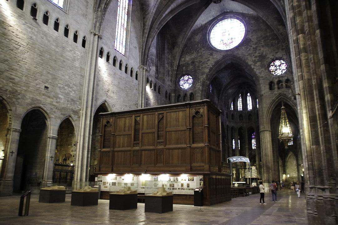 Visite de l'intérieur de la cathédrale de Gérone