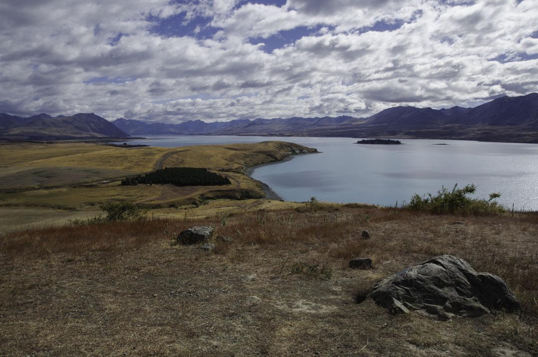 Paysage - Lake Tekapo - Nouvelle Zélande
