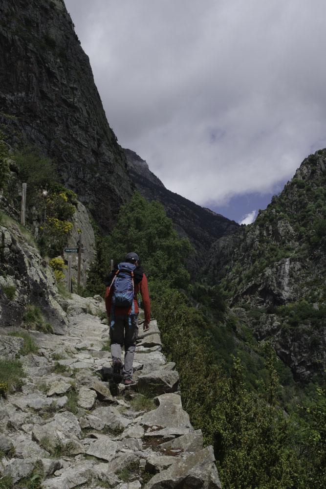 Itinéraire de randonnée en Catalogne