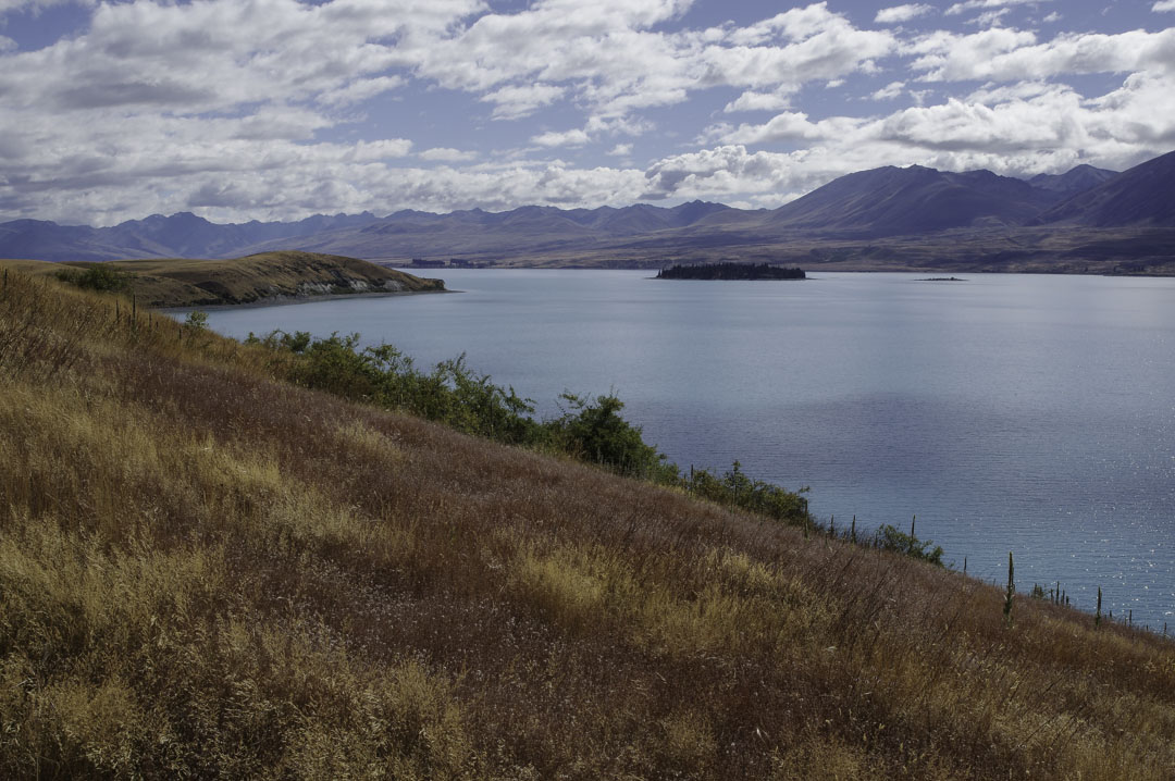 randonnée autour du lac tekapo