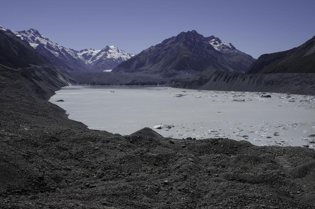 Lac Glaciaire de Tasman Glacier