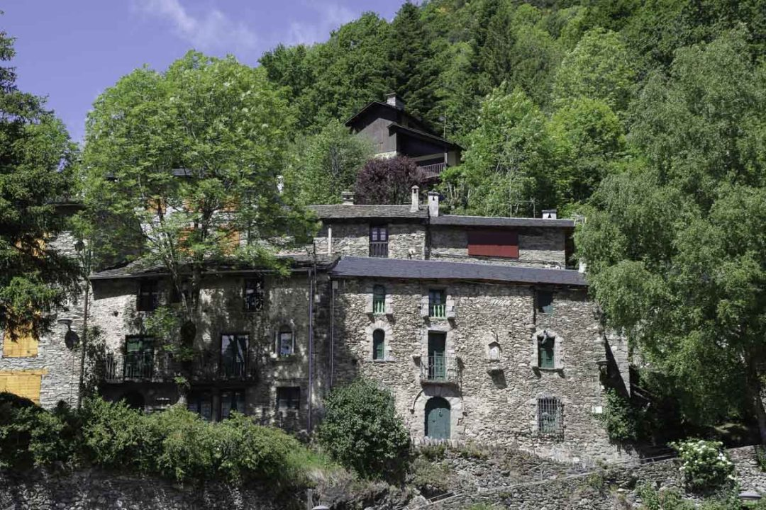 le village de Queralbs en Catalogne