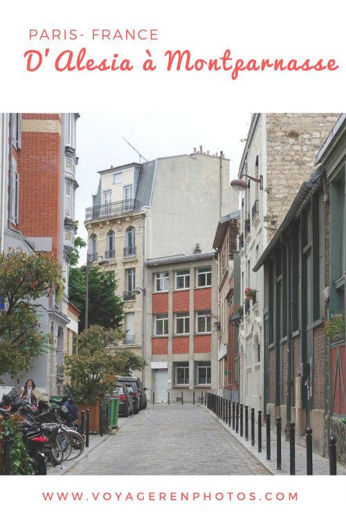 Découvrir le 14ème arrondissement de Paris : balade d'Alesia à Montparnasse sur les traces des artistes