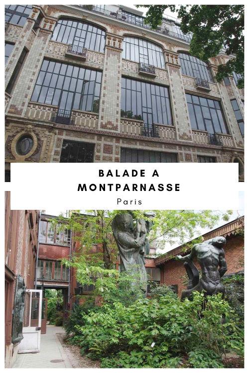 Balade de Montparnasse à Alesia sur les traces des artistes