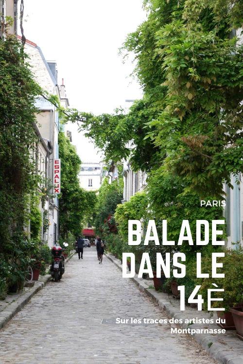 Balade bucolique dans le 14ème arrondissement de Paris d'Alesia à Montparnasse