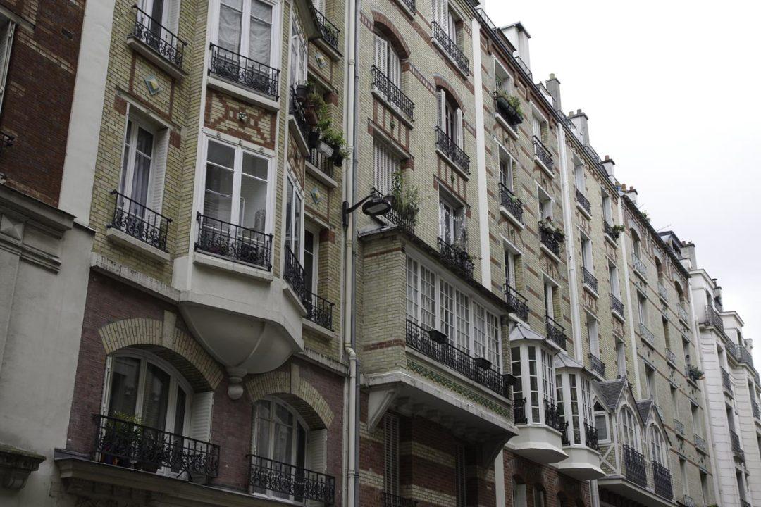 Bow Windows de la rue Louis Morard