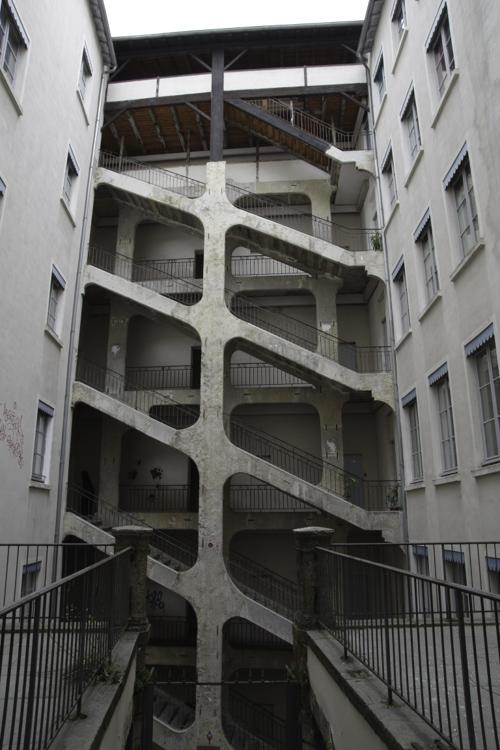 La Cour des Voraces à Lyon