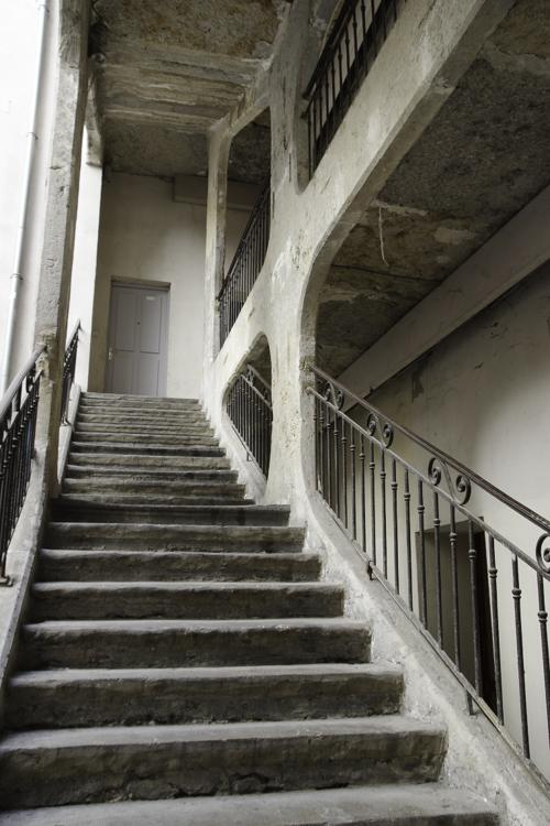 Escalier de la cour des Voraces - Lyon