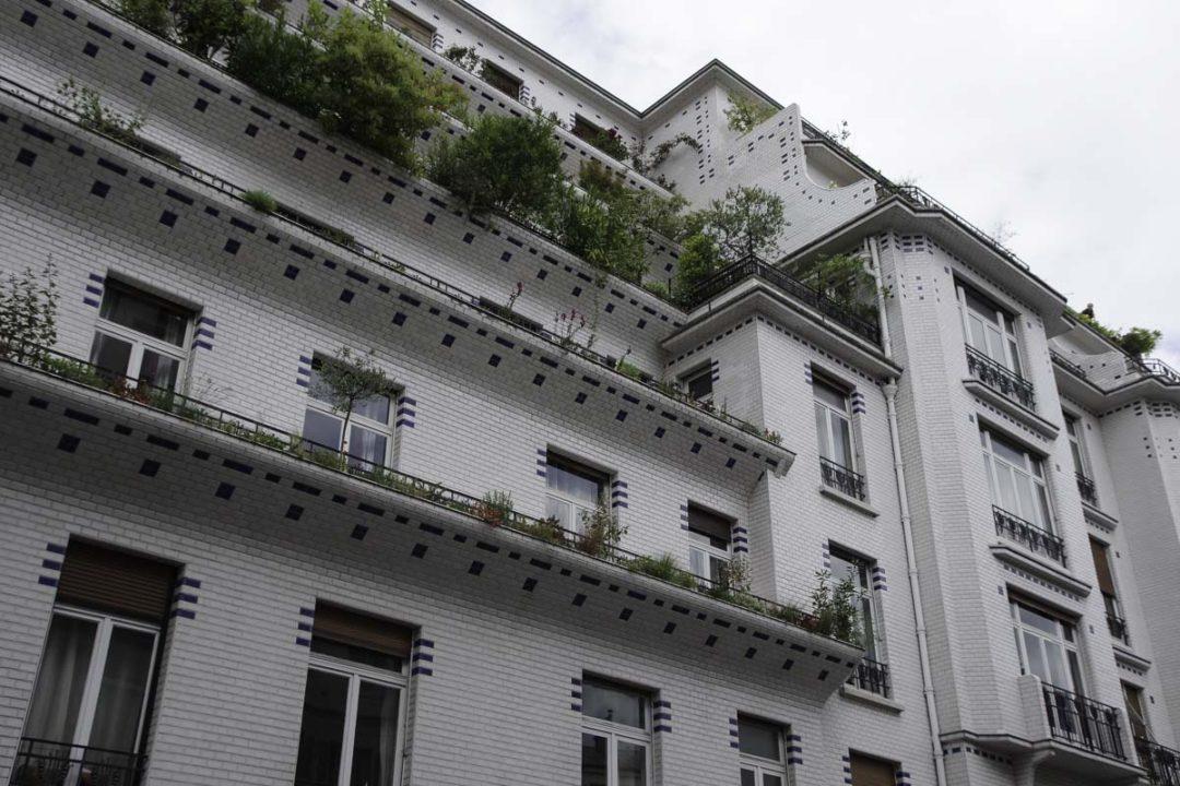 L'immeuble en céramique de la rue Vavin