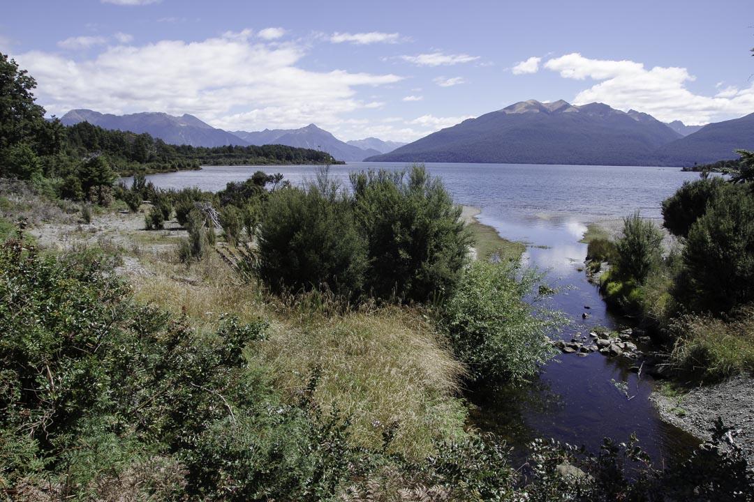 Balade au lac Mistletoe