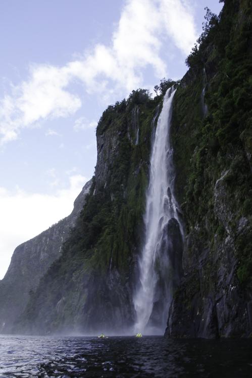 Cascade Milford Sounds
