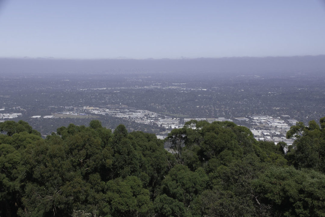 Panorama au sommet du Sky High Mount Dandenong