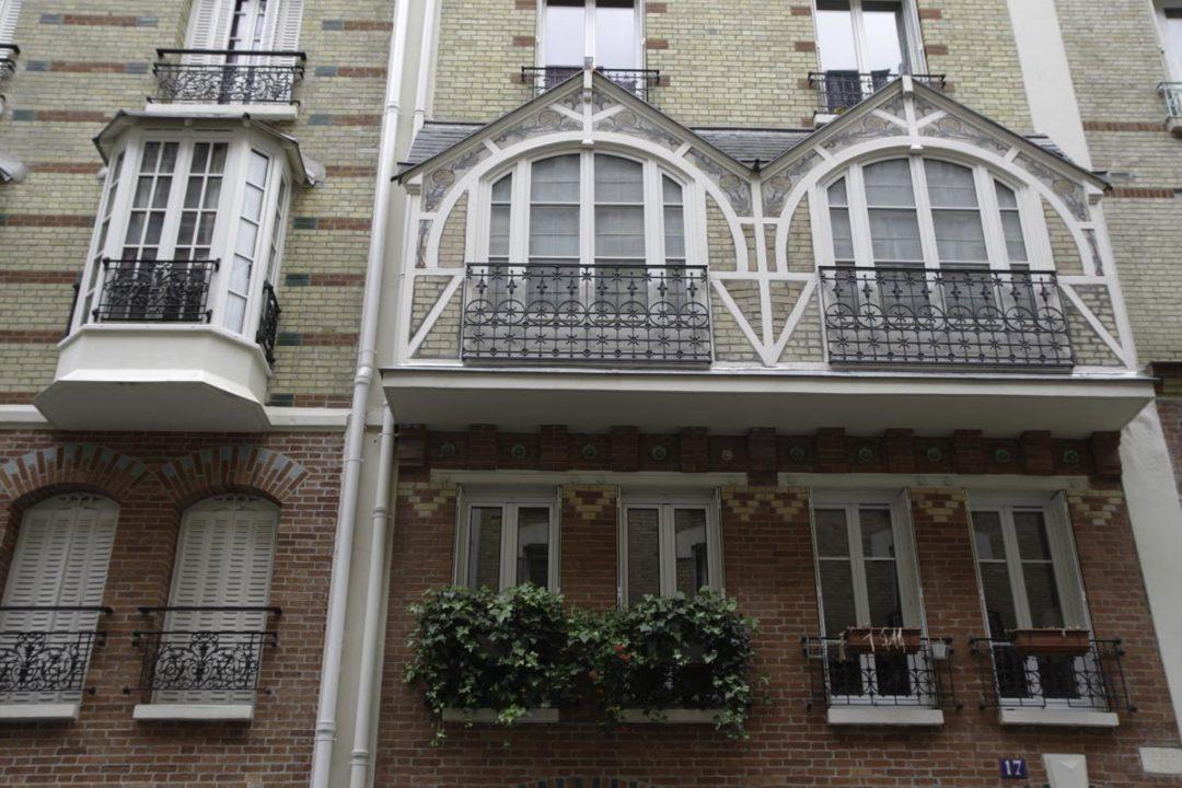 Les Bow Windows de la rue Louis Morard