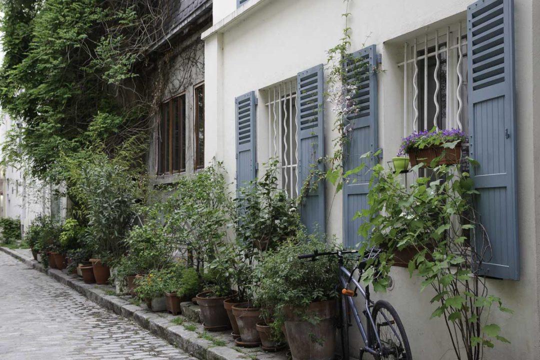 rue des thermopyles dans le XIVème
