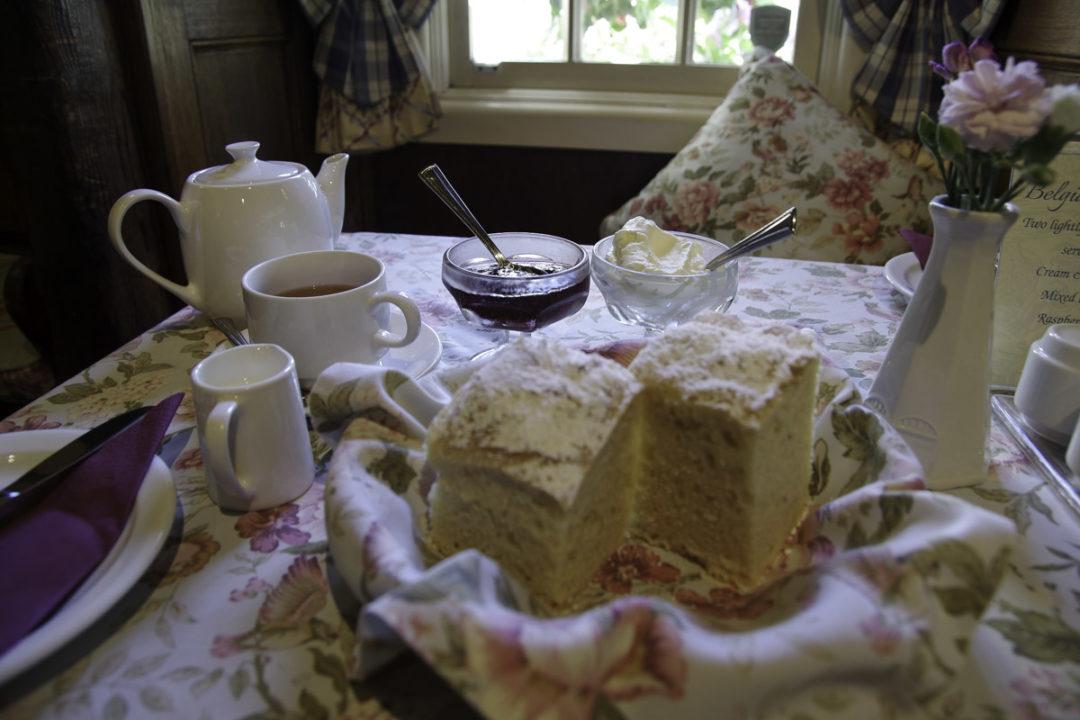 Pause thé à l'anglaise chez Miss Marple à Sassafras