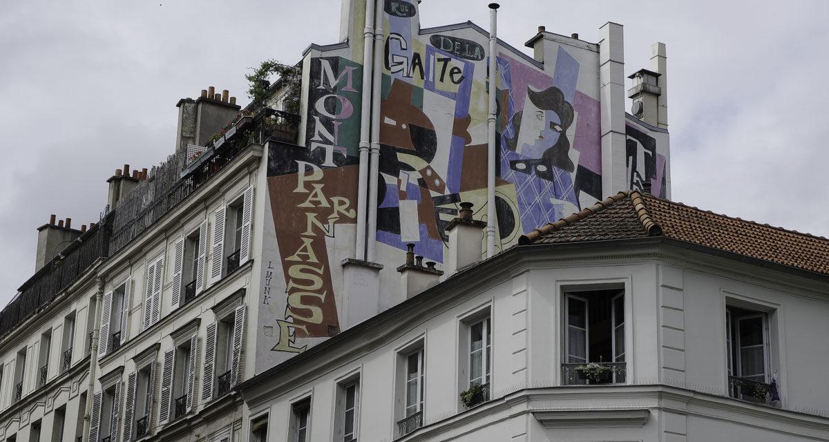 Balade sur les traces des artistes du Montparnasse