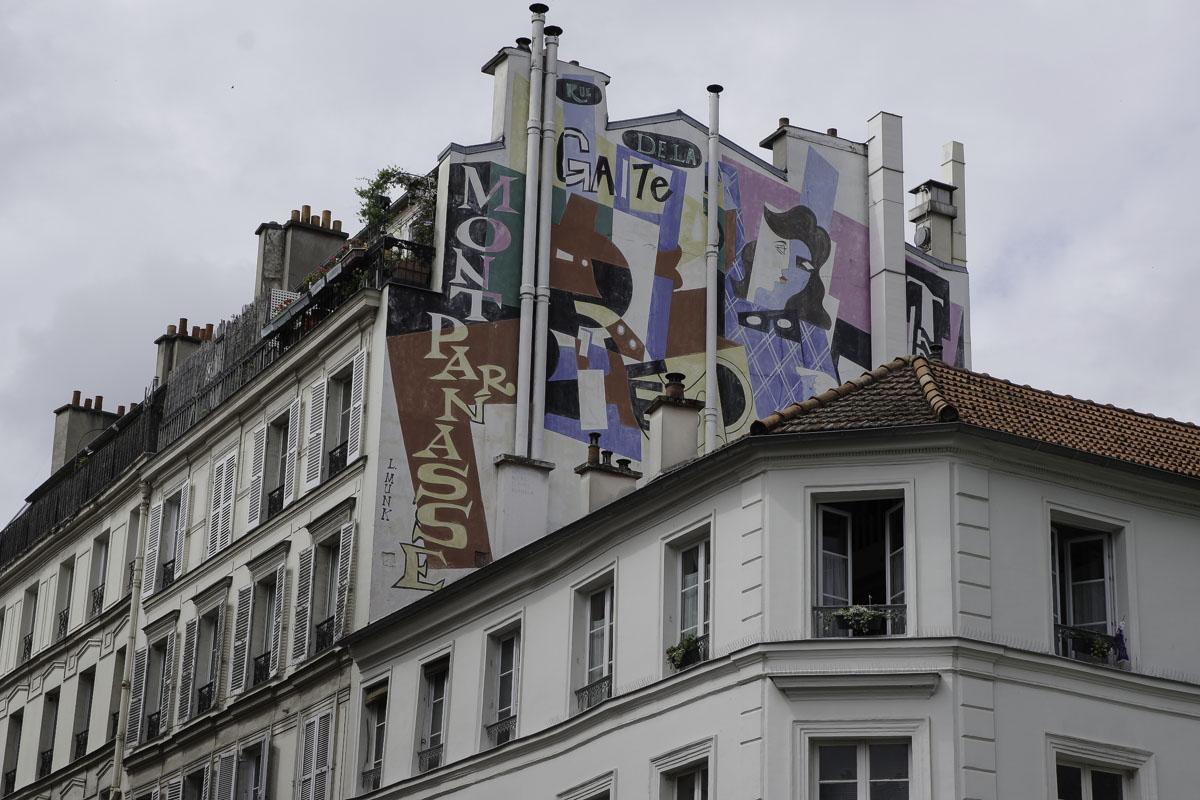 Street Art Rue de la Gare Montparnasse